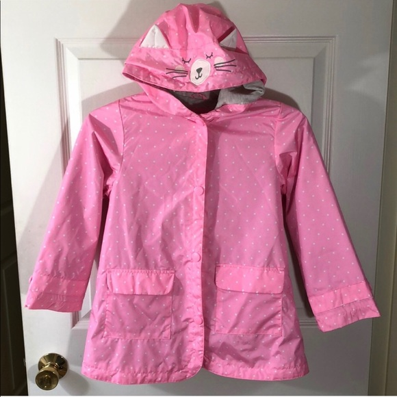 Carter/'s Boys Red Fireman Rain Slicker Size 2T 3T 4T 4 5//6 7